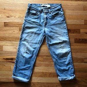 Vintage Levi's dad jeans faded blue 28-30